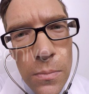 Doctor Using Stethoscope - Stock Footage - VideoHive 2015-10-15 01-19-51